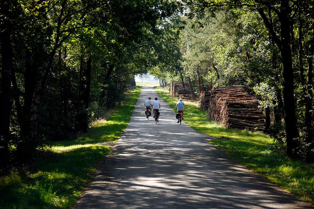 fietsers in Ommen, Ruud Ploeg